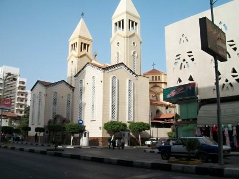 V Port Saidu naleznete i kostel