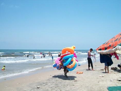 Idilka pláže Port Saidu
